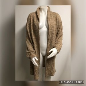 OUT FROM UNDER Women's Brown Sweater XSMALL